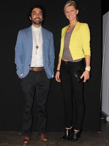 Rafael Arocha y Alexandra Newbould