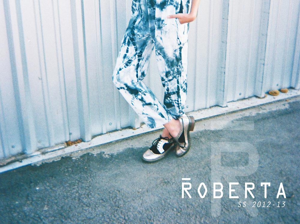 Roberta SS 2012/13: Campaña + Lookbook