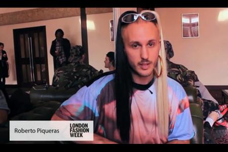 Fashion Report: Roberto Piqueras – London Fashion Week 2012