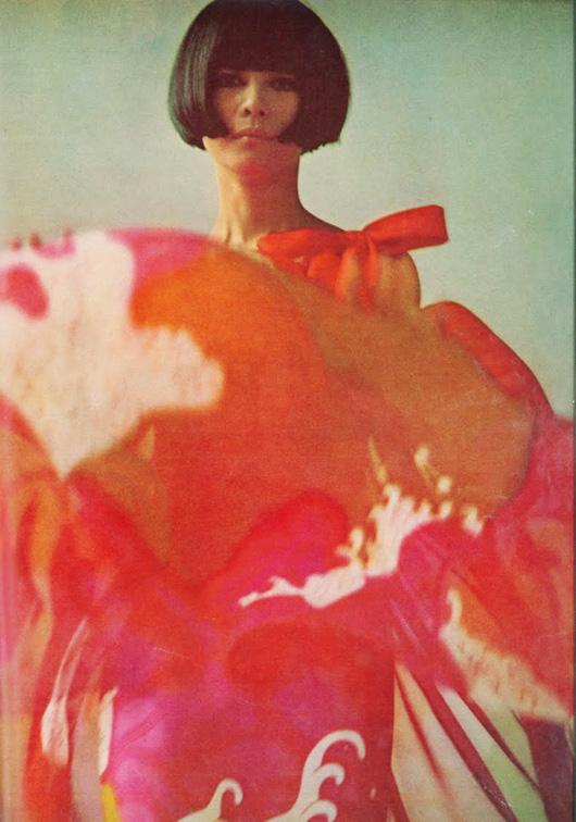 Hiroko Matsumoto, la primera modelo japonesa en París
