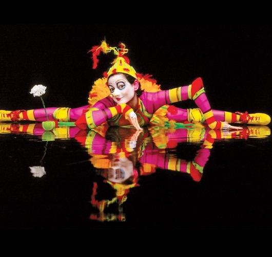 El vestuario de Le Cirque Du Soleil