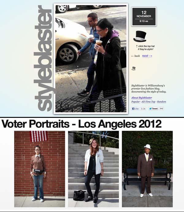 Style Blaster y Voter Portraits, el nuevo rumbo del street style