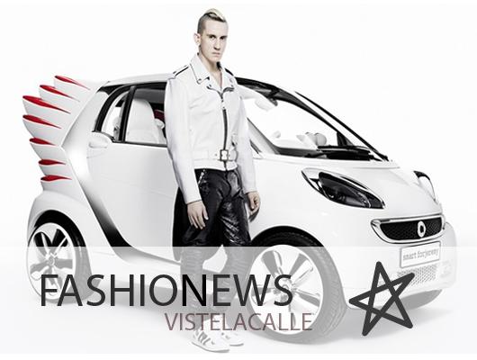 Fashion News: Jeremy Scott diseña auto con alas, Desfile DIVa en Valdivia y 1a Feria de Navidad Francesa