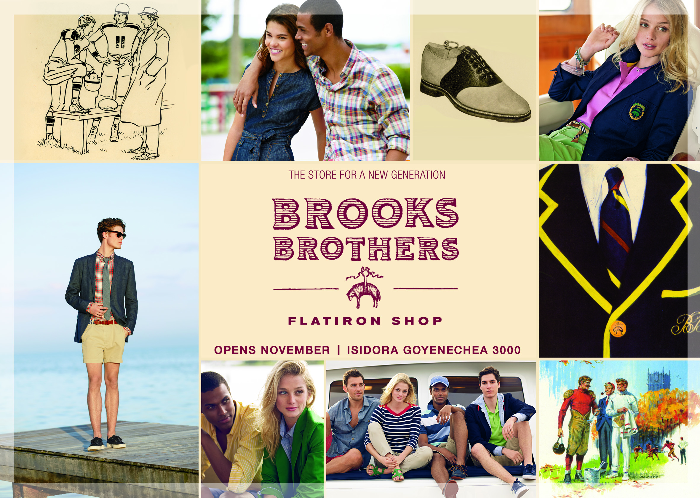 "Brooks Brothers inaugura su línea más juvenil: ""Flatiron Shop"""