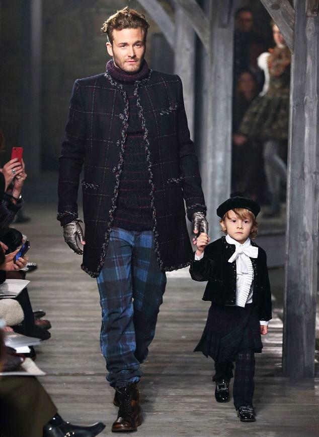 Hudson Kroenig, el muso infantil de Chanel