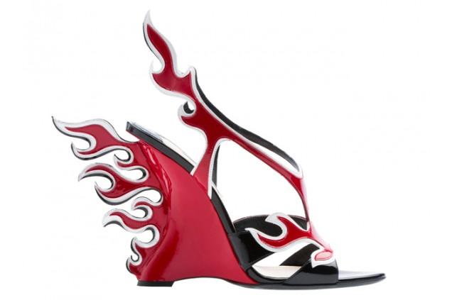 El FIT de Nueva York crea muestra con los zapatos más extravagantes