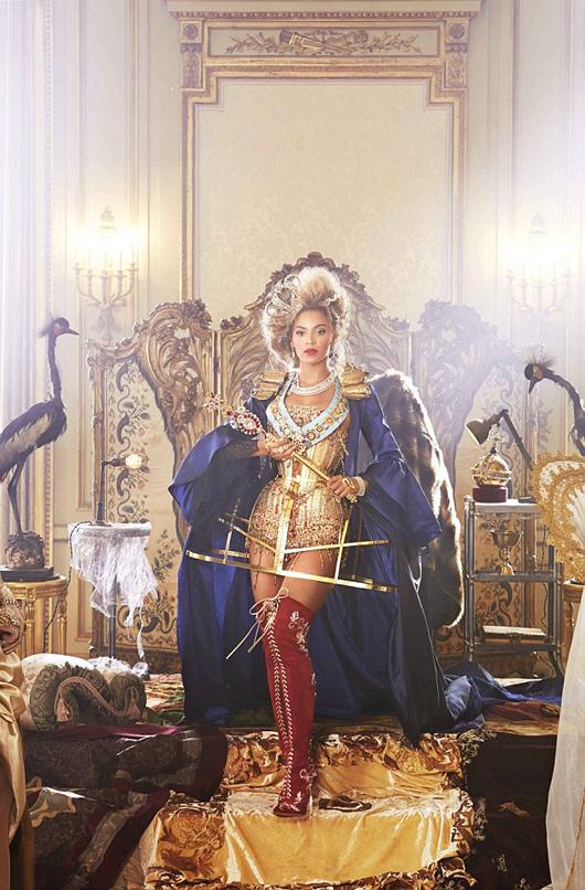 El vestuario de la nueva gira mundial de Beyonce