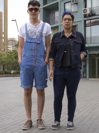 Nicolás Acosta y Javiera Ramírez