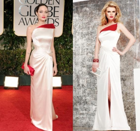 Faviana, la marca que copia los vestidos de las famosas