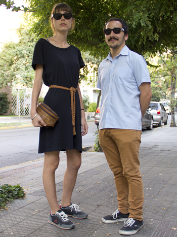 Laura Lobera y Sergio Morera