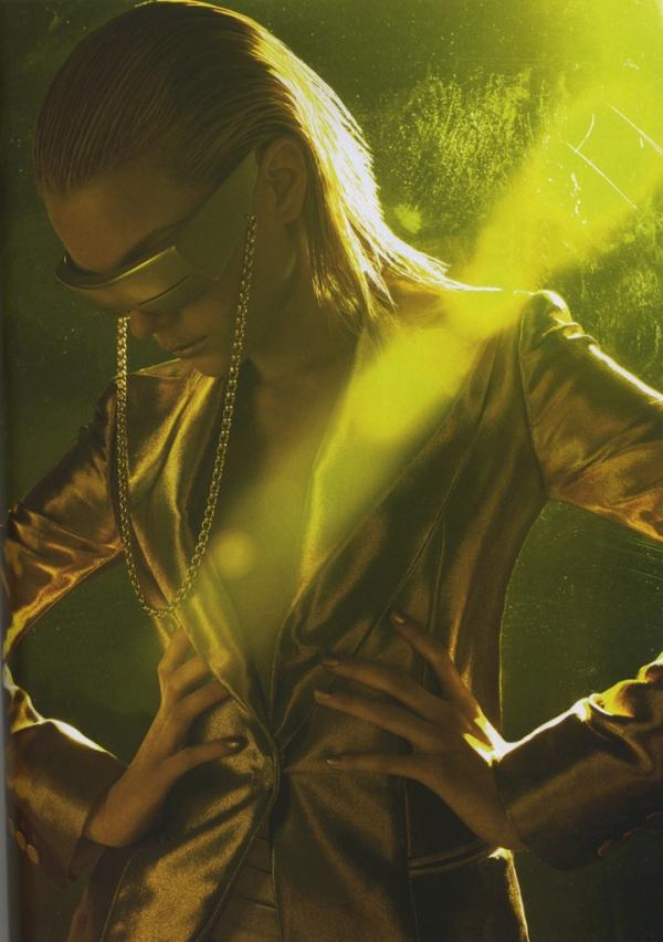 Jessica Stam por Solve Sundsbo para Numéro #77, 2006