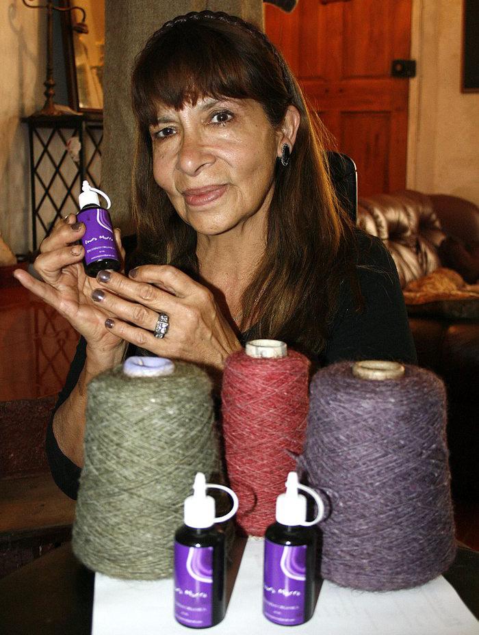 Entrevista a Laura Marro: diseños textiles con cabello humano