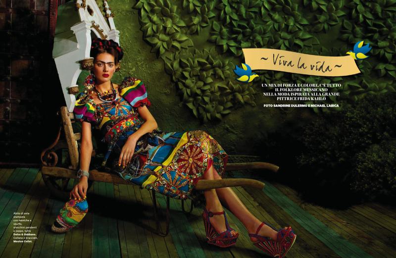 """""""Viva la Vida"""": la editorial de Mayo de Amica Magazine"""