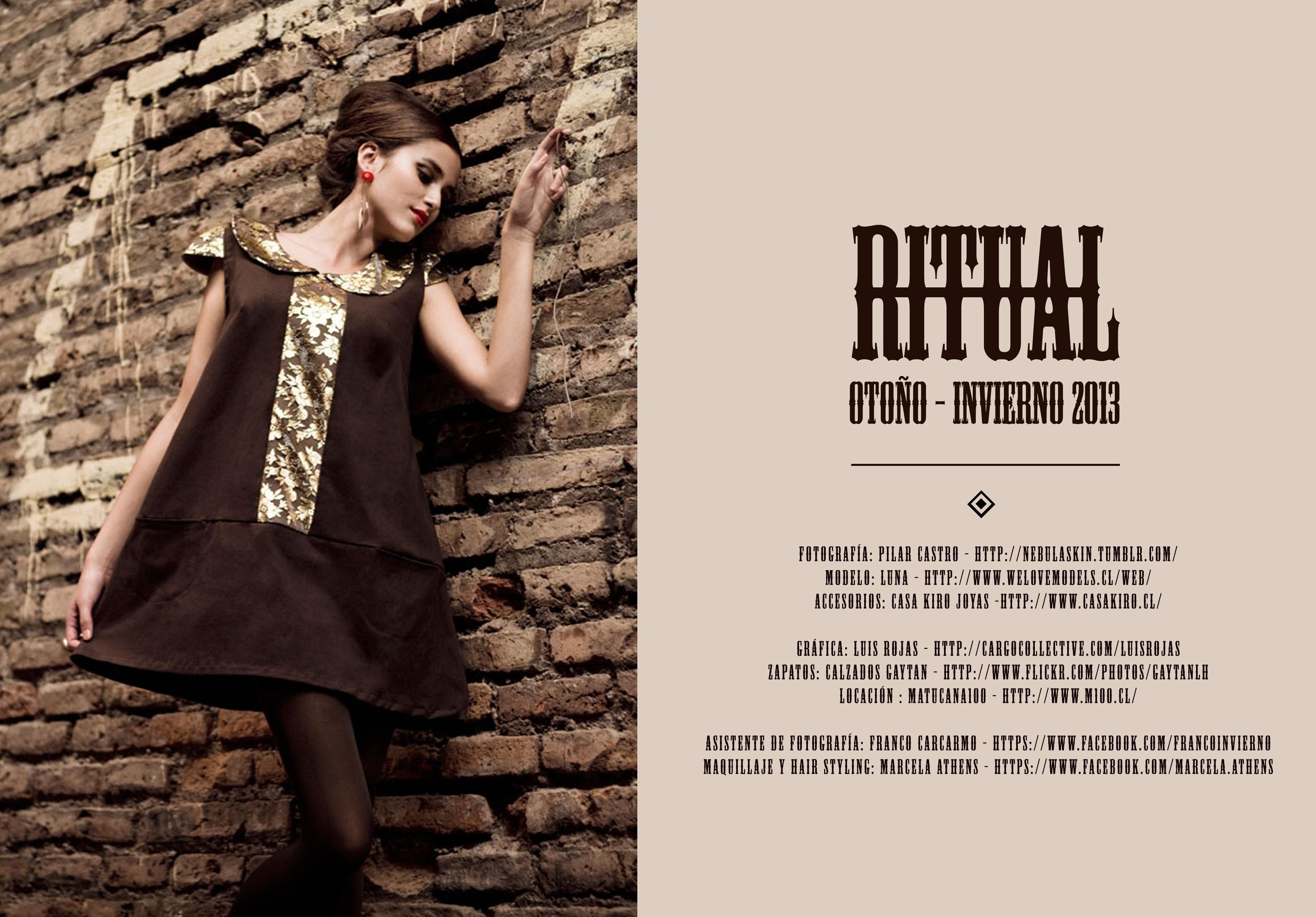 Ritual, la colección otoño-invierno 2013 de Makinita de Coser