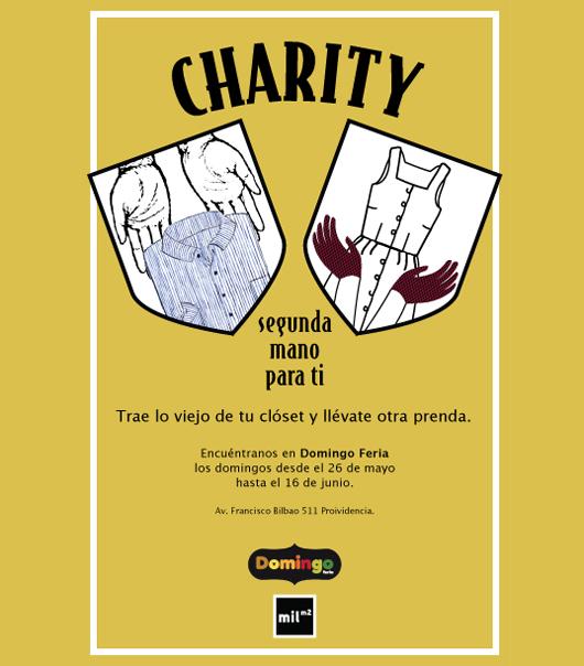 """Charity: segunda mano para ti"" en Domingo Feria"