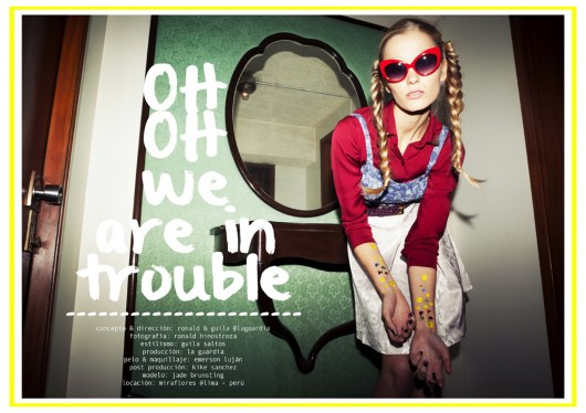 """Oh! Oh! We are in trouble"": producción de moda desde Perú"