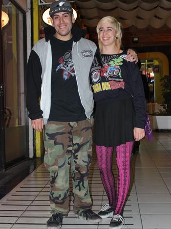 Diego Rojas y Melina Recart