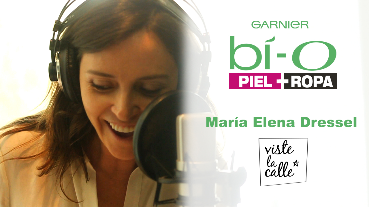 Garnier Bio Piel + Ropa: María Elena Dressel