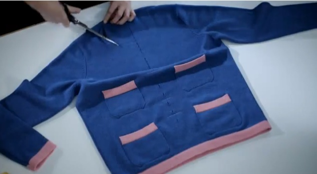 VLC ♥ The making of the cardigan by Chanel