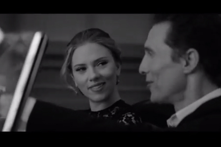 VLC ♥ Scarlett Johansson & Matthew McConaughey para Dolce & Gabbana