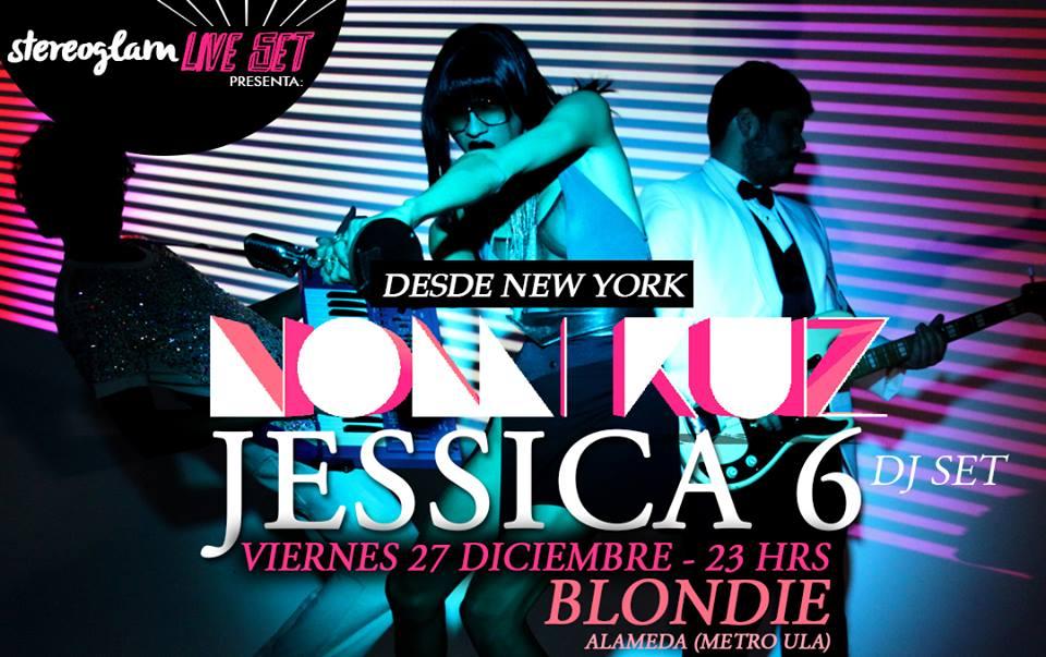 Concurso: Gana entradas dobles para ver a Jessica 6 en Blondie