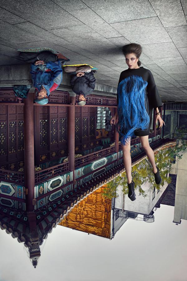 Modelos al revés por Martin Tremblay