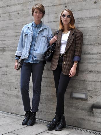 Micaela Costa y Paula Aldunate