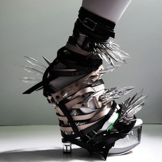 Zapatos Esculturales: Moda, Arte y Arquitectura del calzado