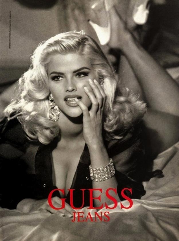 Flashback: Anna Nicole Smith para Guess, 1993
