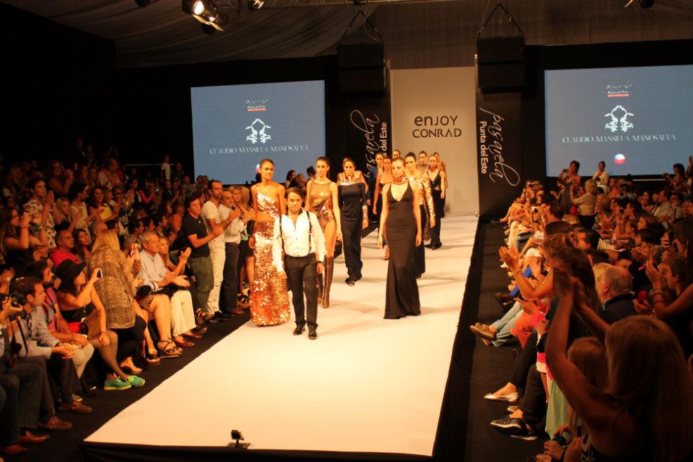 La alta costura de Claudio Mansilla es ovacionada en Pasarela Punta del Este