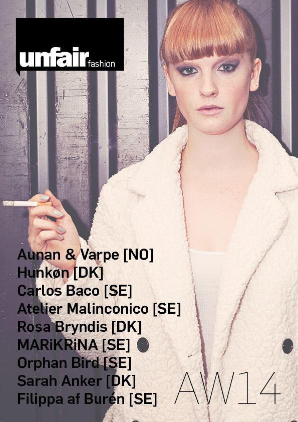 UNFAIR Fashion: La pasarela de diseño emergente de Copenhague Fashion Week