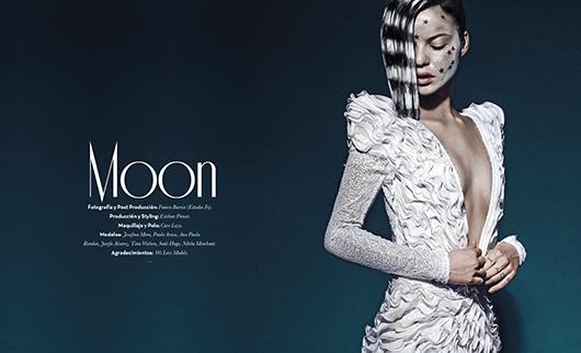 """Editorial de moda RVLC 6: """"Moon"""""""