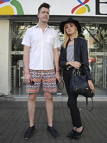 Yvan Rodic y Danna Paratore