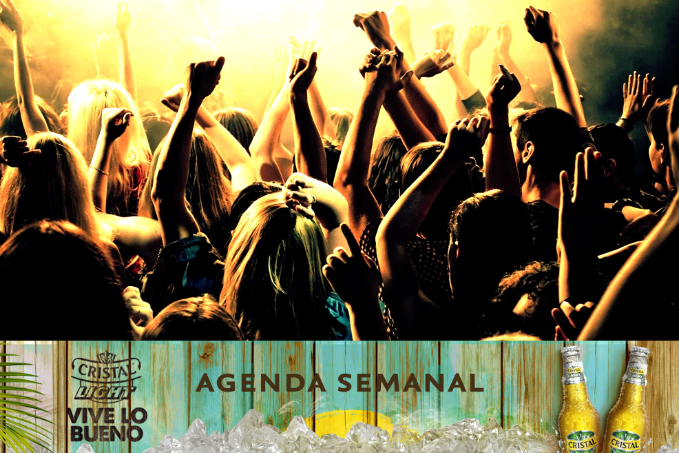 Agenda Cristal Light: Panoramas del 10 al 13 de abril