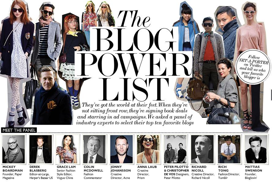 El negocio de ser blogger de moda