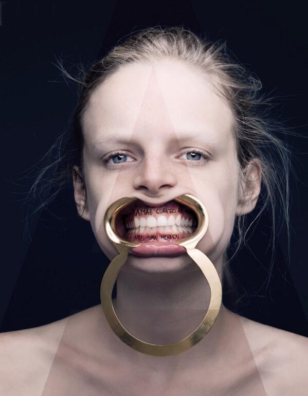 La curatoría de Iris Van Herpen para A Magazine