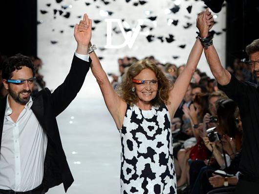 VLC ♥ Diane von Furstenberg a través de Google Glass