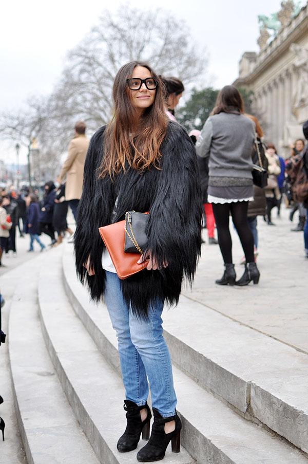 VLC Trends: Abrigos y chaquetas peludas de invierno