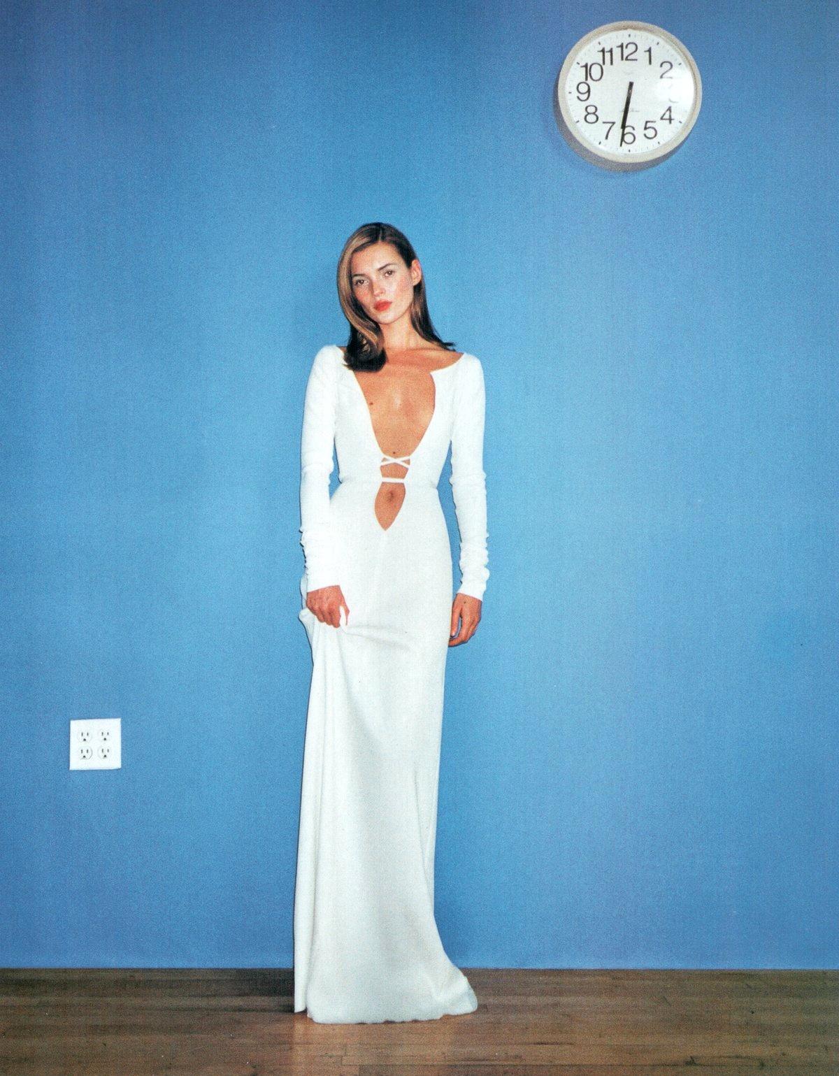 Flashback: Kate Moss en una de las primeras editoriales de Terry Richardson, 1998