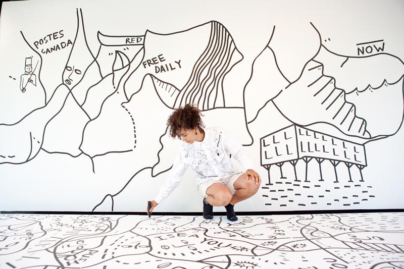 Arte y Moda: Los trazos de Shantell Martin