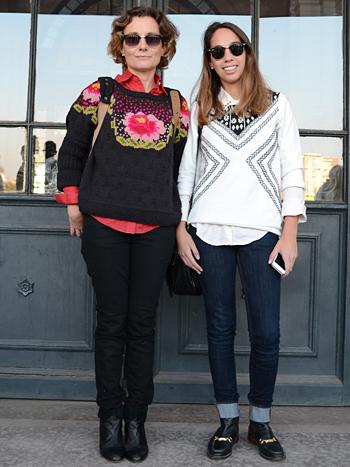 Luz María Gonzalez y Soledad Gonzalez