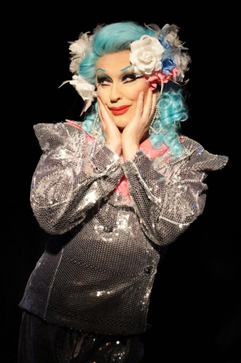 Miss Dusty O, el travesti más famoso de Inglaterra
