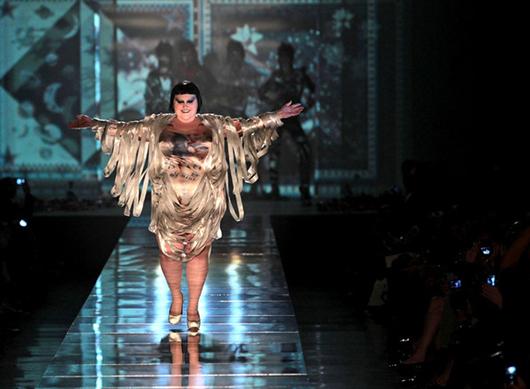 Las modelos de tallas grandes llegan al Uptown Fashion Week