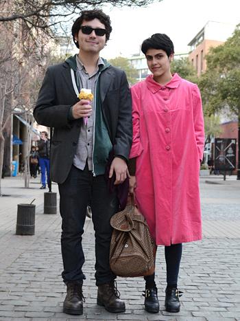 Daniela Contreras y Daniel Fernández