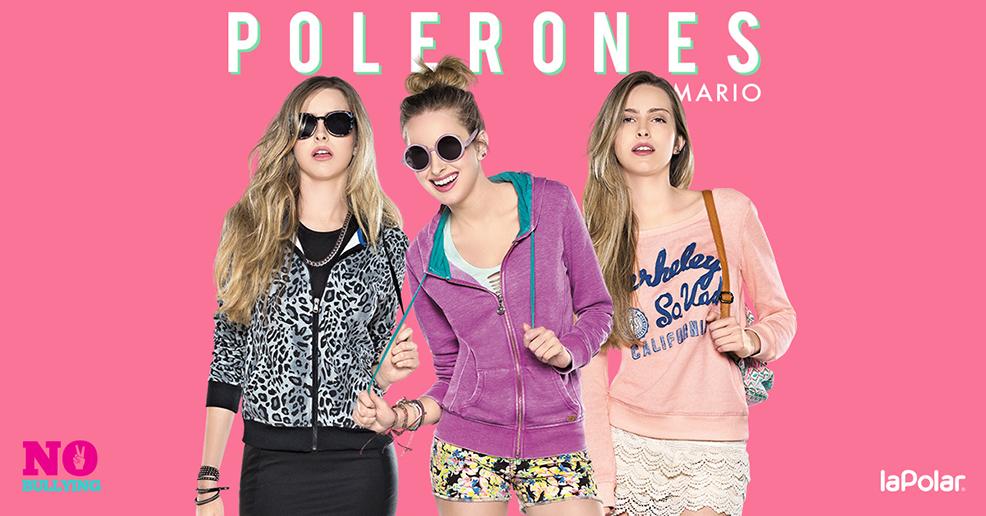 Colección polerones primavera-verano 2015 de Armario La Polar: Más amor, menos bullying