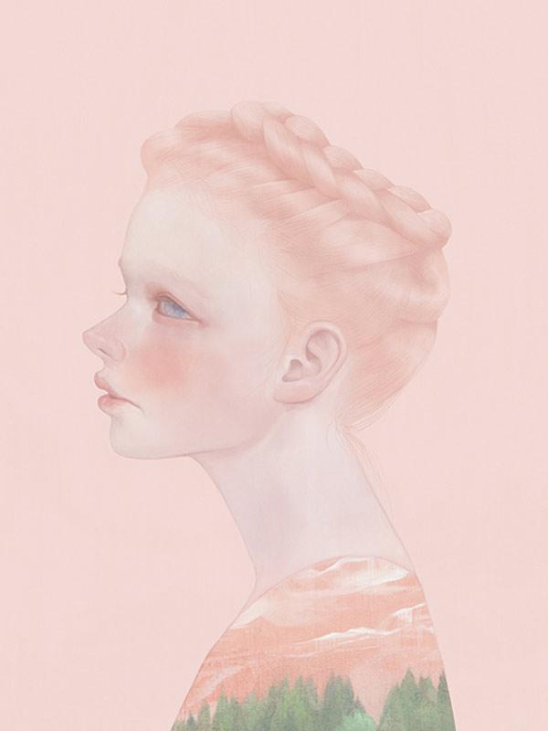 Magia, fragilidad y delicadeza en las ilustraciones de Hsiao-Ron Cheng