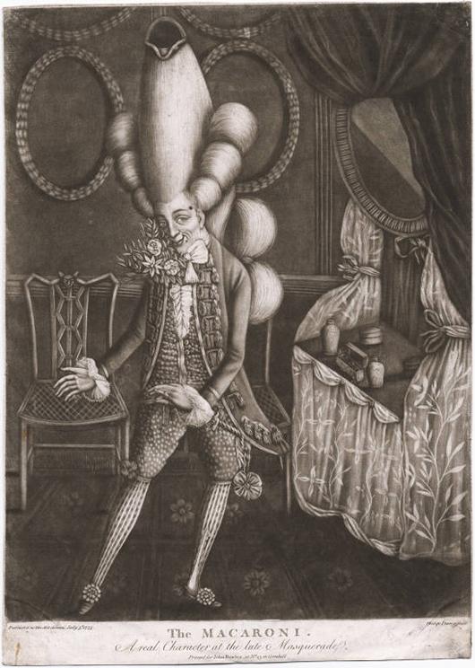 VLC Man: Macaronis, moda británica del siglo XVIII
