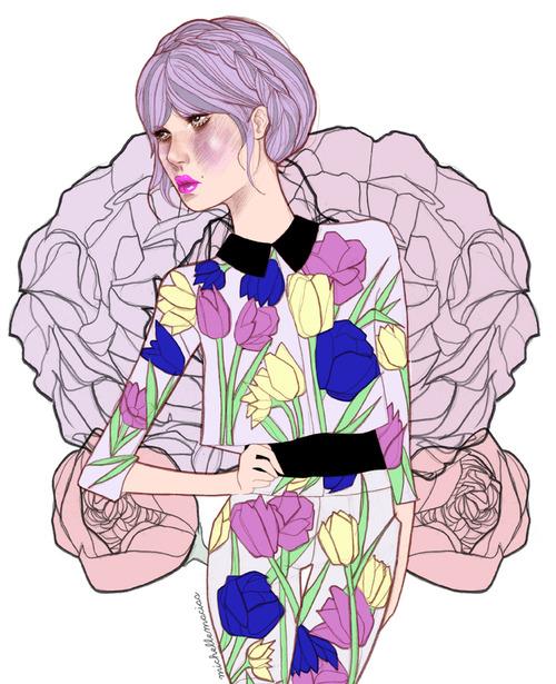 Entrevista a la ilustradora mexicana, Michelle Macías