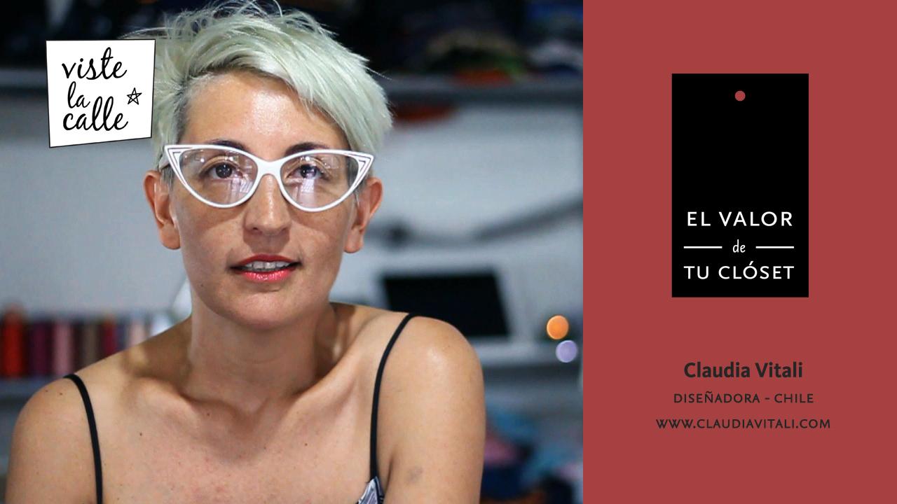 El Valor de Tu Clóset: Claudia Vitali