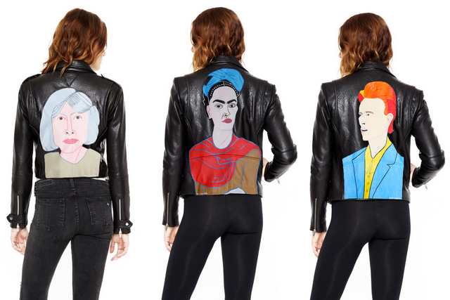 Alice Lancaster y la nueva colección de chaquetas ilustradas de VEDA